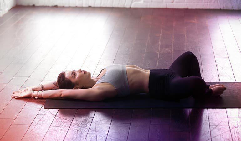 йога расслабление перед сном