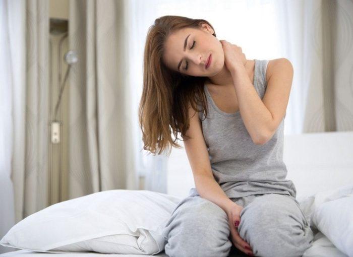 боль в шее после сна